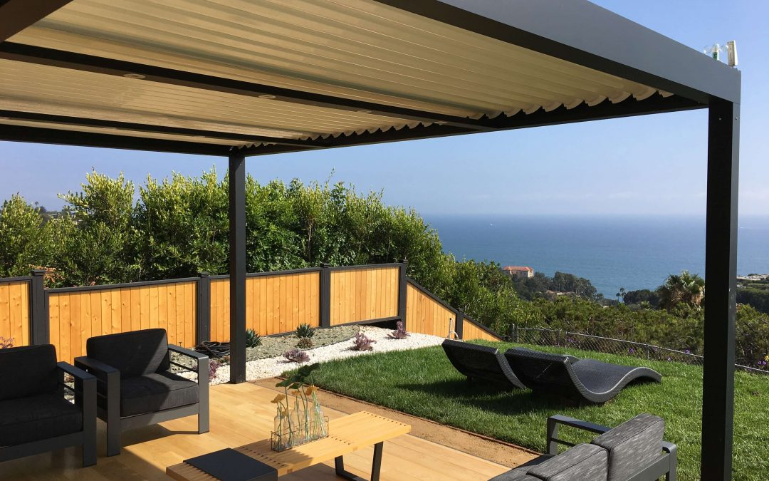 Patio of The Week: Louvered Roof with Ocean-View